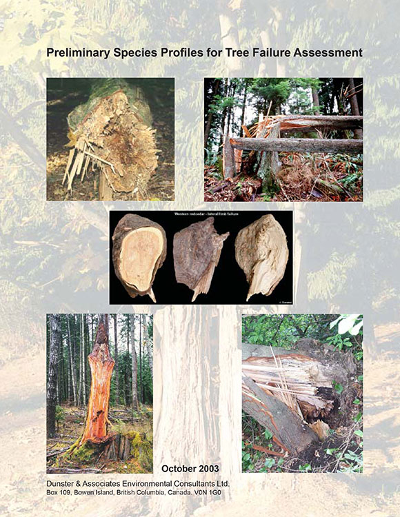 Preliminary Species Profiles for Tree Failure Assessment